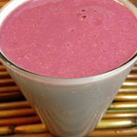 Raspberry Creamsicle Smoothie