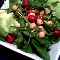 Chickpea Cranberry Salad