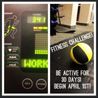 April 1st Fitness Challenge – UPDATE!