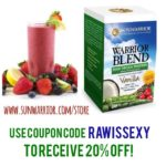 Discount on Sunwarrior Raw Vegan Protein!