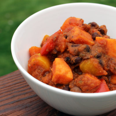 Vegan Pumpkin Chili